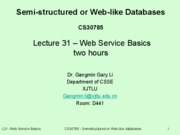 lecture31-WS-Basics