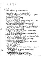 Pippin Notes