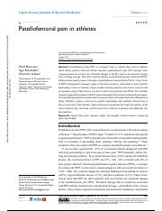 OAJSM-133406-patellofemoral-pain--pfp--in-athletes_061217 (2).pdf