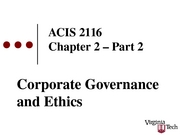 ACIS 2116 Chapter 2 Part 2 Slides with blanks Sp 2008