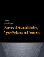 Overview Fin Mkts Agency Probs and Incentives (1).pptx