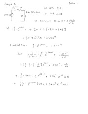 RL, RC, RLC circuits solutions using La Place and differential equations