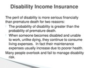 Disability and Long Term Care