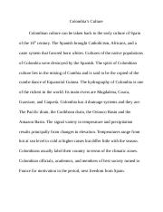 Colombia Culture Pages 1-8.docx