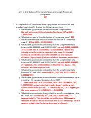 MATH 1530 : Elements of Statistics - Austin Peay State