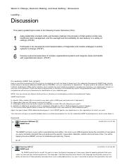 Wk 3 Topic discussion Print View