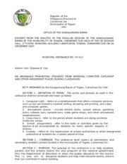 barangay complaint format - Republic of the Philippines Region IV-A