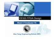 Week5 EE502 TimeQuest TA