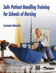 NURSING SAFETY