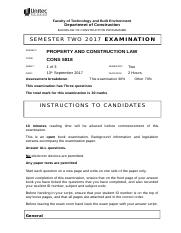 PCL - Exam Template draft 2017.doc