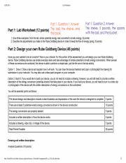 1.05 Energy Worksheet - Lab Worksheet Part 1 Question 1 ...
