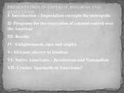 Presentation 19 Imperial reforms and revolts