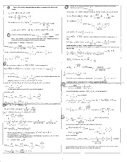 Controls Formula Sheet Test 2b