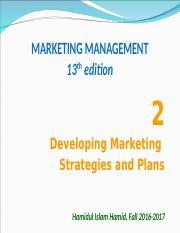 Marketing Management (Chapter 2).ppt