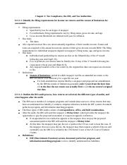 Chapter 2 Tax Compliance, the IRS, and Tax Authorities.docx