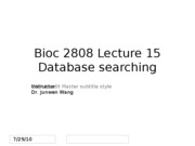 Lect 15 searching statistics