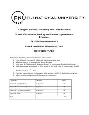 ECN 501 Final Exam Question Paper 2014 edited.docx