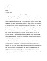 English Essay_ Analyzing Fable.pdf