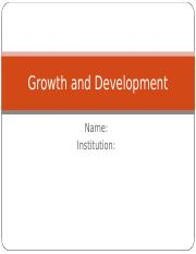 Growth and Development.ppt