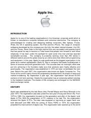 Apple Inc.docx