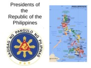 PRESIDENTS OF THE PHIL.-complete