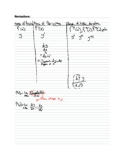 5 Derivative Rules