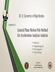 Lecture 8 Pole Method for Acceleration Analysis.pdf