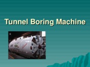 Tunnel Boring Machine new geo1103