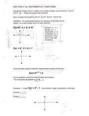 MATH 1023 Section 5 Notes