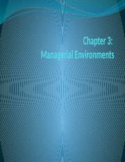 Chapter3ManagerialEnvironments student