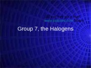 Halogens 2Opt
