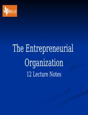 12 Entp Organization  Lecture Notes.pptx