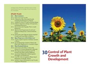 CHAPTER 30 CONTROL OF PLANT GROWTH