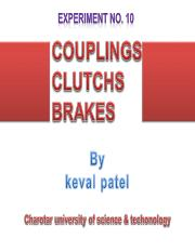 coupling,clutches, brakes.ppt