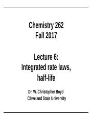 Lecture 6 (integrated rate laws).ppt