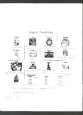 Ch1 & 2 Vocabulary