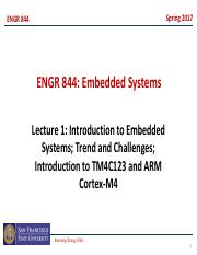 engr844 lecture1 introduction to embedded systems arm cortex m4 1 rh coursehero com Cortex-M4 On Linux Cortex-M4 Icode