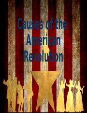 02. American Revolution - Causes.pptx
