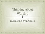 Evaluating with Grace