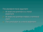 critical thinking slide_moral arugment