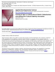 Jensen 2010 globalization and adolescent ID.pdf