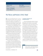 The Theory and Practice of Free Trade.pdf