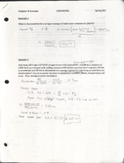 Chapter 8 Example Problems