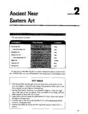 Chapter 2 Ancient Near Eastern Art AP Study Guide