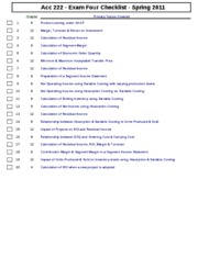 ACCT_222_-Spring_2011_Exam_Four_Checklist