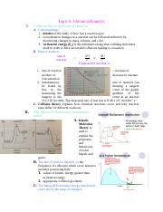 Topic 6-Kinetics