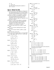 Pre-Calculus Homework Solutions 25