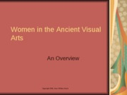 Women in the Ancient Visual Arts