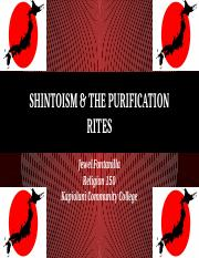 Shintoism & The Purification Rites.pptx