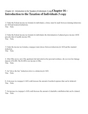 Chapter 16 - Introduction t